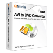 4Media AVI to DVD Converter for Mac