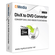 4Media DivX to DVD Converter for Mac