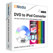 4Media DVD to iPod Converter for Mac