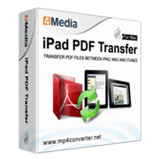 4Media iPad PDF Transfer for Mac