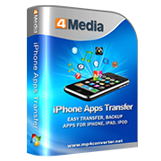 4Media iPhone Apps Transfer