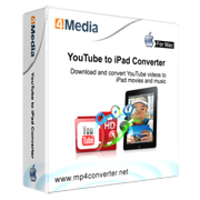 4Media YouTube to iPad Converter for Mac