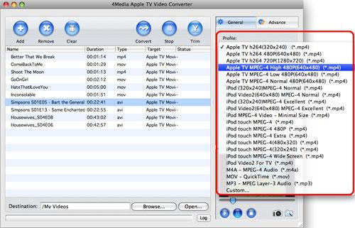 Convert Apple TV Video on Mac