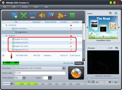How to convert M2TS files to DVD
