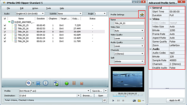 How to convert DVD movies