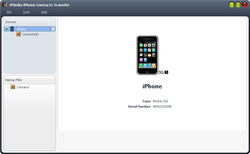 Download iPhone Contacts Transfer