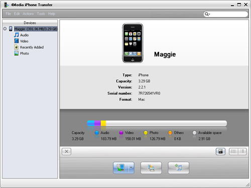 How to transfer iPhone content to PC