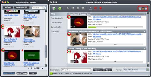 Convert YouTube to iPod Mac