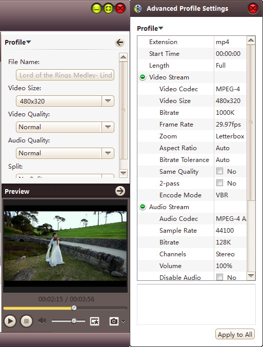 4Media iPhone Video Converter6 - convert video to iPhone