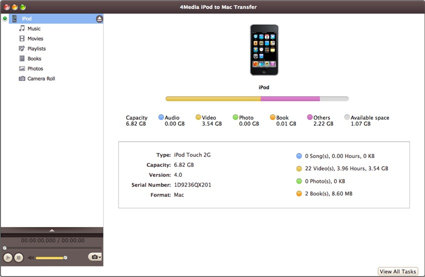 4Media iPod to Mac Transfer