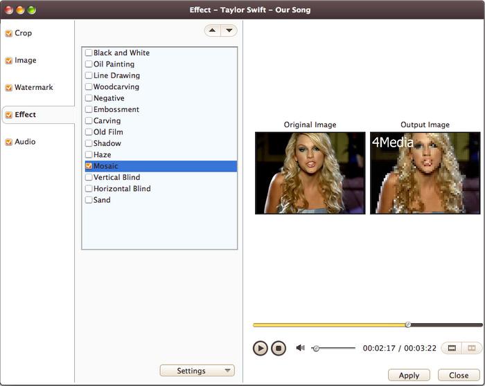 4Media Video Converter Ultimate for Mac