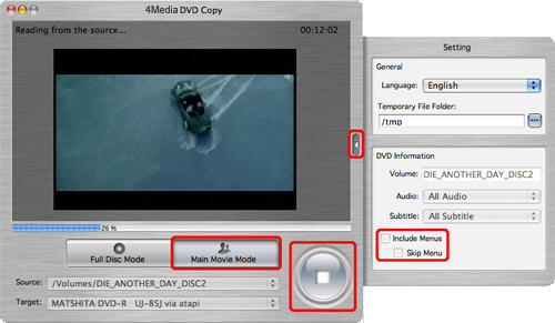 Burn ISO to DVD, DVD copy