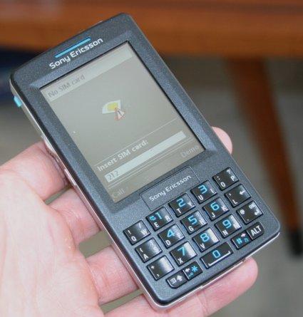 Sony Ericsson smartphone M600